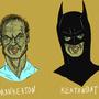 MAN KEATON KEATON BAT by El-Cid