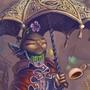 scattered tea storms by bimshwel