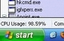 Windows XP Start Hack