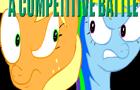 A competitive battle